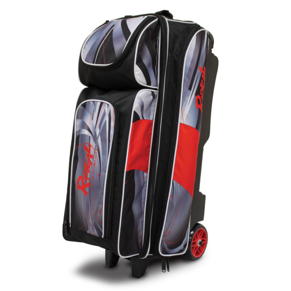 Three Quarter View of the Triple Roller Bag