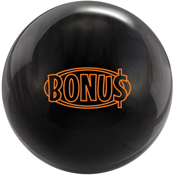 Bonus Pearl bowling ball in black