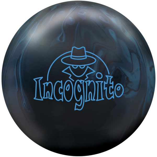 Incognito Bowling Ball Black with Blue streaks